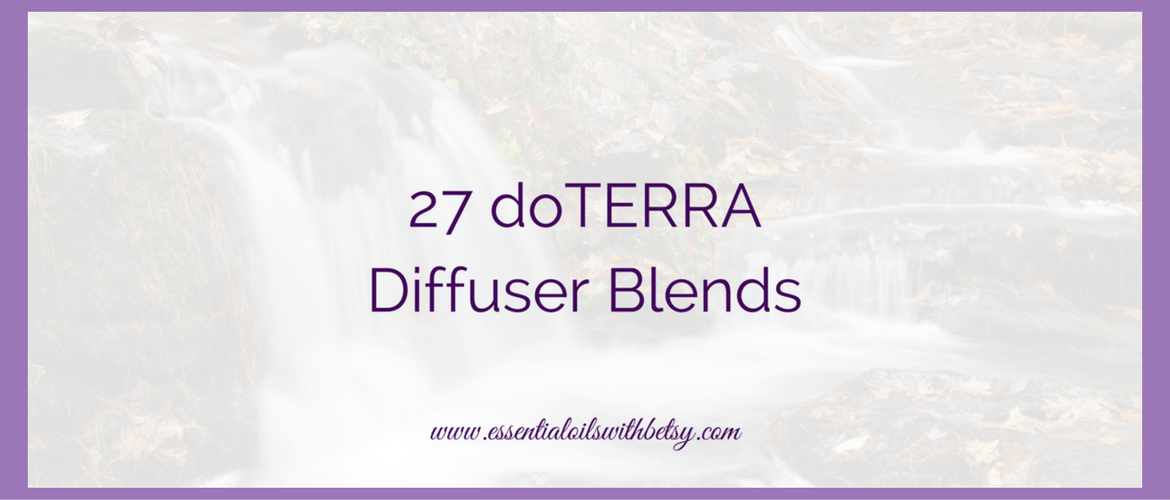 doTERRA diffuser blends galore! Today as I was cleaning a few old files off my computer, I came across an awesome stash from doTERRA that I just had to share with you.