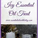 essential oil icy treat