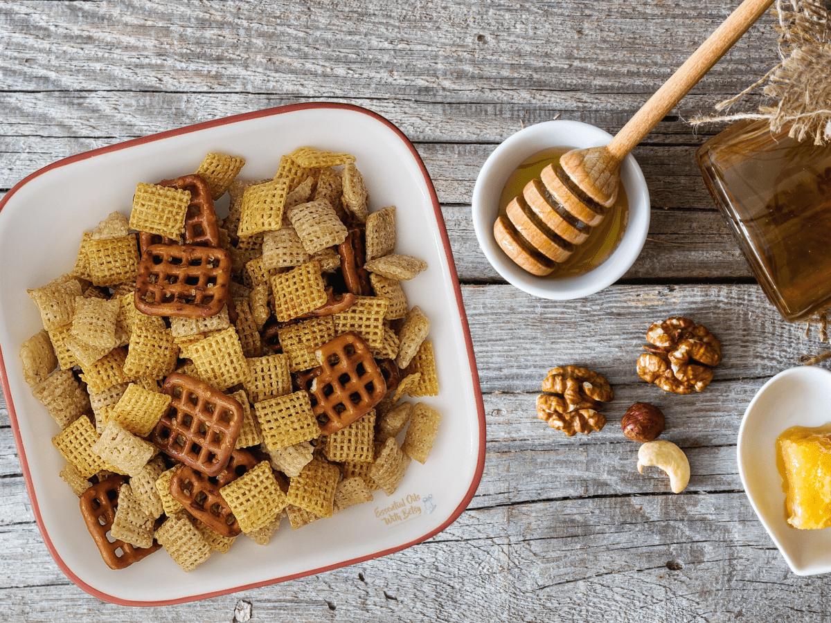 Honey Glazed Snack Mix Recipe