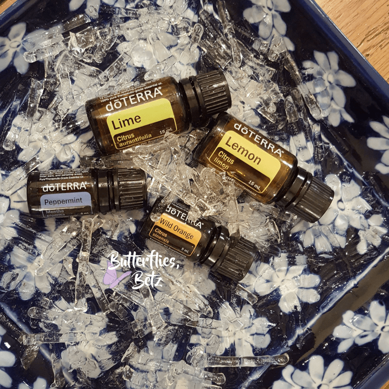 icy essential oil treat