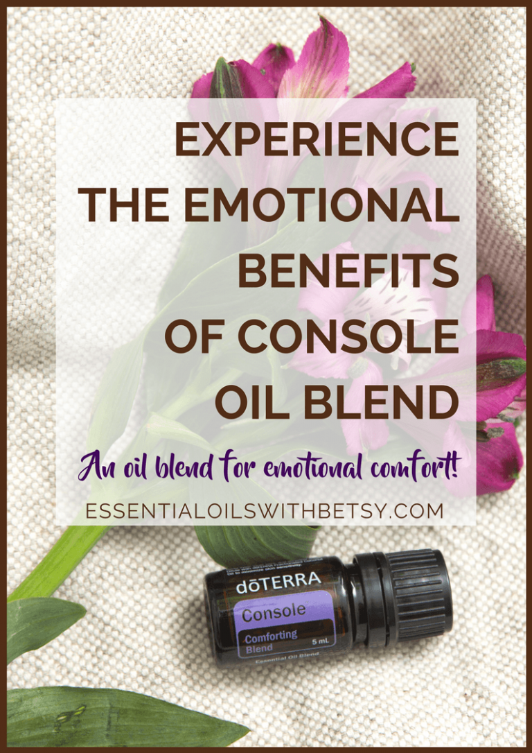 doTERRA Console (Comforting Oil Blend)
