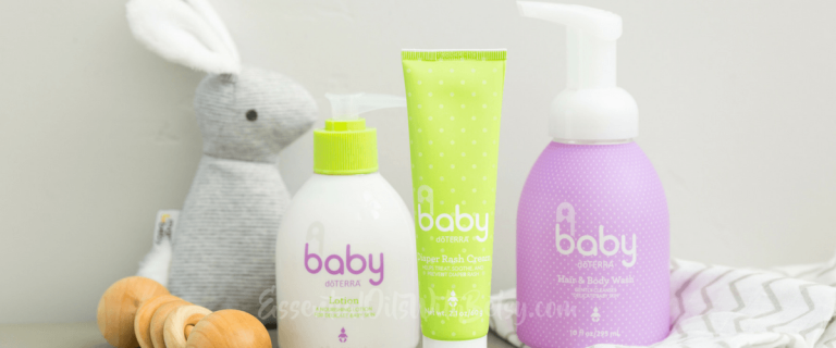 New! doTERRA Baby Line of doTERRA Baby Products