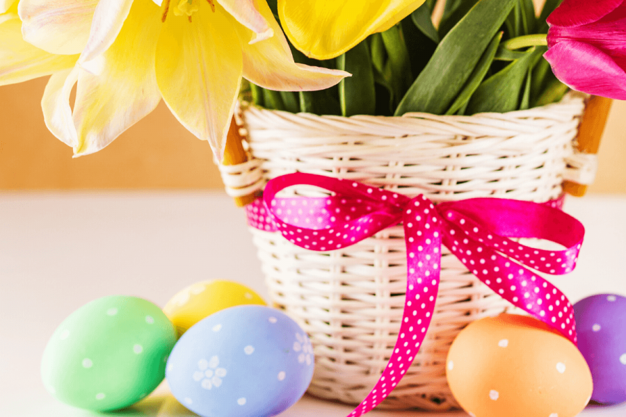 list of no candy Easter basket ideas