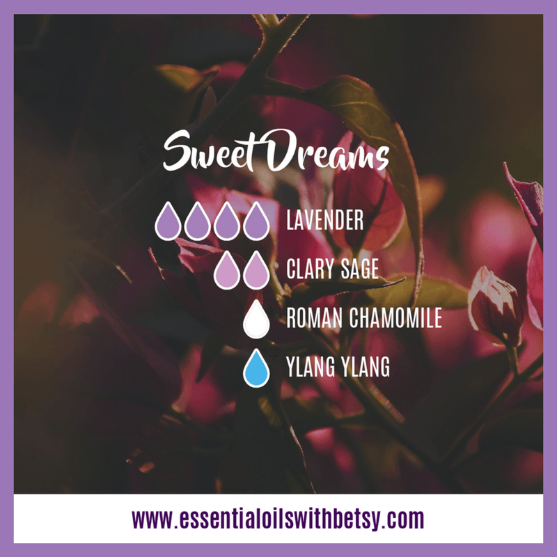 Sweet Dreams diffuser blend with Roman Chamomile essential oil