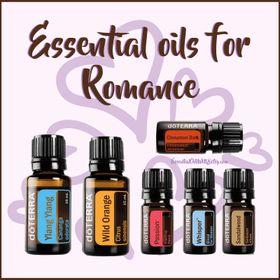 Essential Oils For Romance And of course,  there are essential oils for love and romance.  Use these to help the sparks fly this Valentine's day (or any day)!