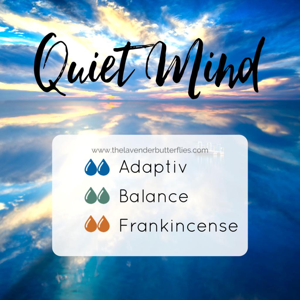 Quiet Mind Diffuser Blend