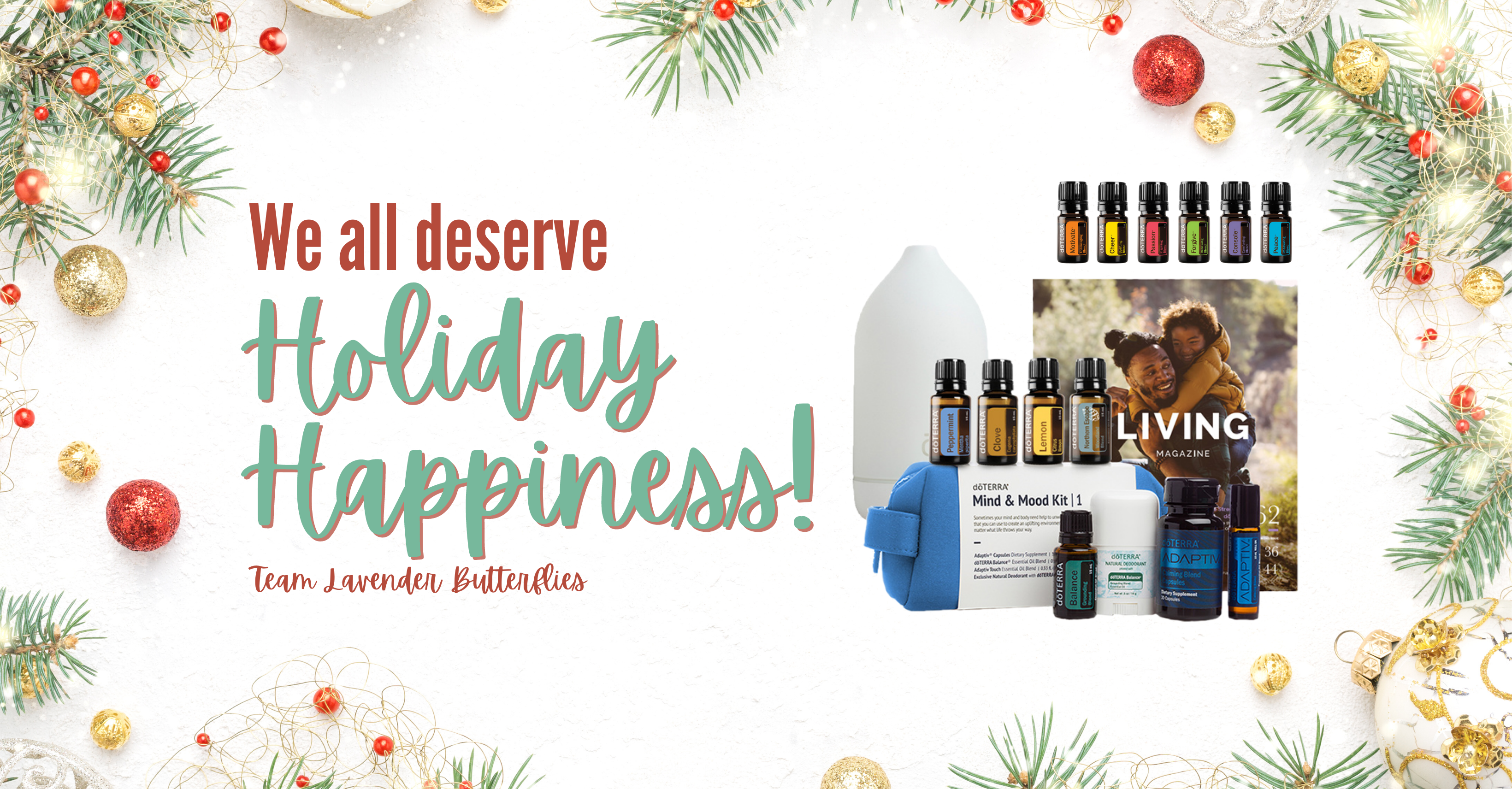 Holiday Happiness Oil Class