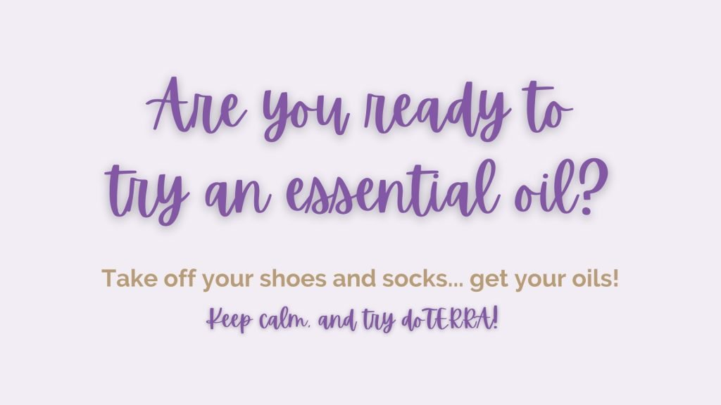 Are You Ready To Try An Essential Oil?