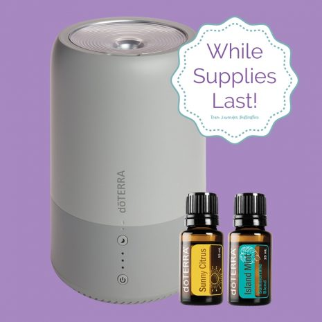 Buy doTERRA Sunny Citrus, Island Mint & Dawn Humidifier While Supplies Last