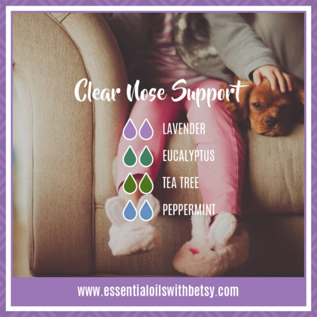 Clear Nose Support Oil Blend