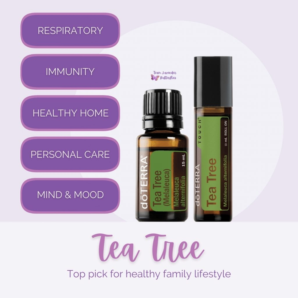What is doTERRA Tea Tree Used For?